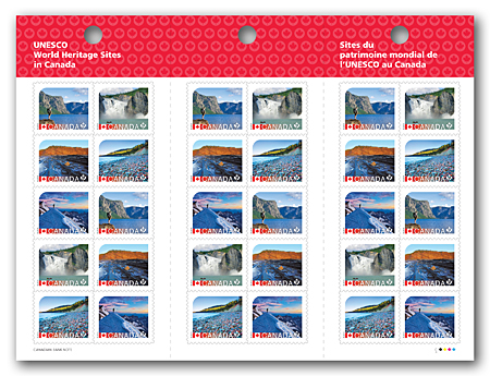 Booklet of 30 stamps