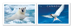 "Stamps to ""lick"" global warming"