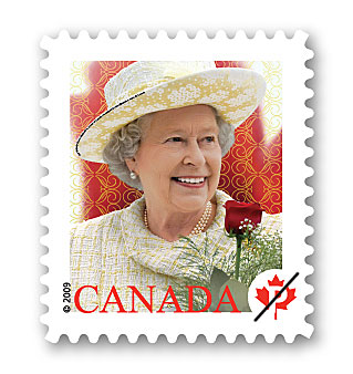 stamps of the queen