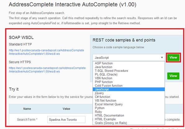 AddressComplete - International Address Finder