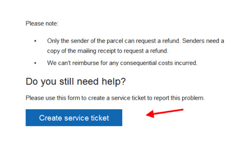 If You Are Eligible Select The Create Service Ticket Button Near Bottom Of Support Article