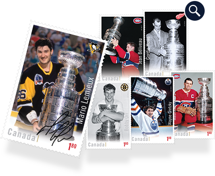 Hockey Card Stamp Set