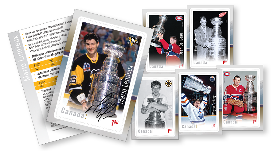 The Ultimate Six – NHL Stamp Collection | Canada Post