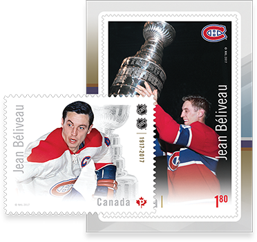 Jean Béliveau stamp
